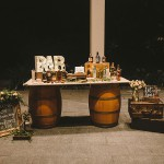 Groom's Signature Drink Station